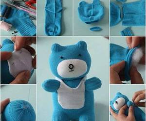 diy, bear, and teddy image