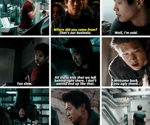 the maze runner, the scorch trials, and ki hong lee image