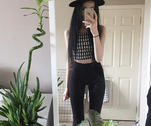 girl, hat, and outfit image