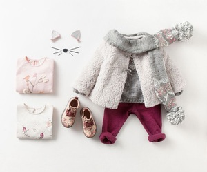baby clothes, baby girl, and newborn image