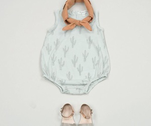 baby clothes, dress, and baby girl image