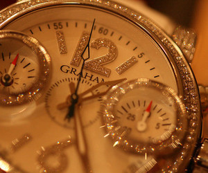 watch, luxury, and clock image