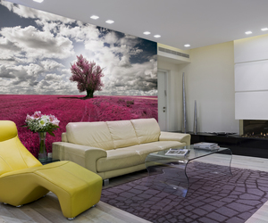 interior design, fototapety, and fototapeta image