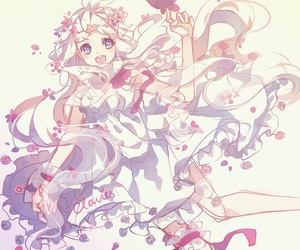 butterflies, girl, and cute image