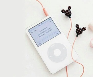 ipod, music, and pink image