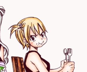 fairy tail, lucy ashley, and lucy heartfilia image