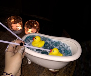 bath, cartier, and cocktail image
