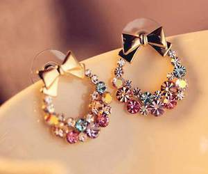 earrings and girly image