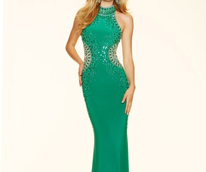 mori lee, prom 2016, and high neck image