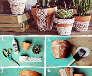 diy, plants, and flowers image