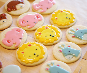 cute, Cookies, and food image