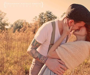 couple, kiss, and kissing image