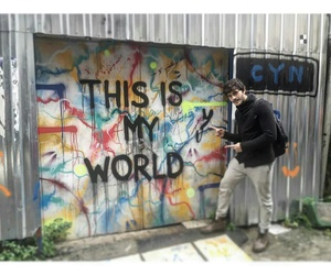 graffiti, handsome, and istanbul image