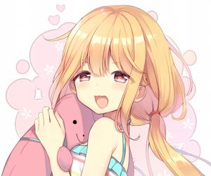 anime, anime girl, and smile image