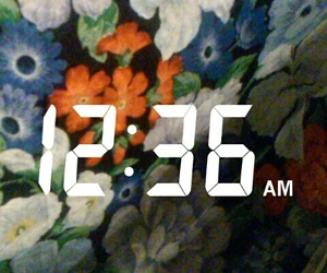 bambi, floral, and time image