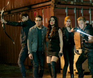shadowhunters, simon lewis, and clary fray image