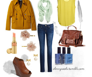 american apparel, blouse, and fashion image
