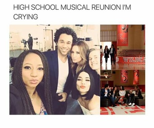 ashley tisdale, high school musical, and reunion image