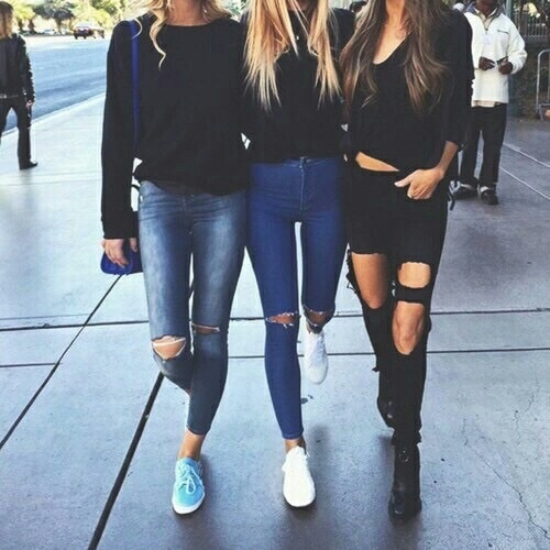 best friends, goals, and tumblr image