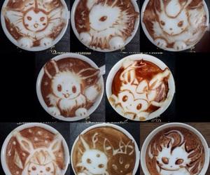 pokemon, coffee, and art image