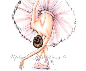 ballerina, indie, and pink image