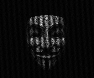 anonymous, black, and mask image