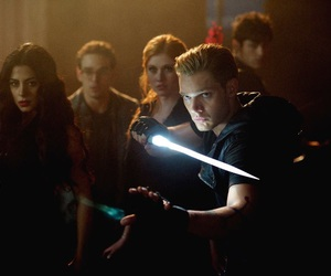 shadowhunters, jace wayland, and clary fray image