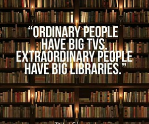 books, libraries, and life image