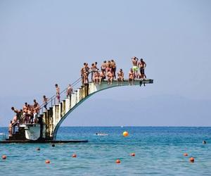 Greece, sea, and Hot image