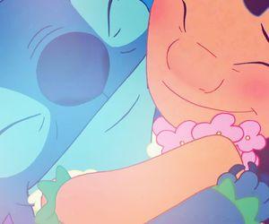 stitch, lilo, and disney image