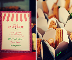 dessert, menu, and sweets image