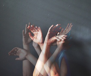 grunge, hipster, and hands image