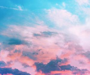 amazing, sky, and sunset image