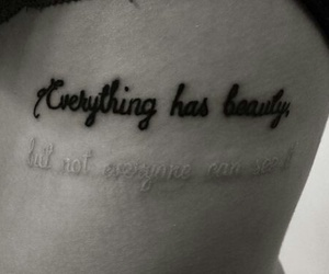 tattoo, beauty, and quotes image