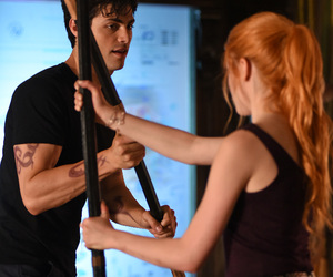 shadowhunters, alec lightwood, and clary fray image