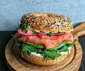 burgers, fish, and salmon image