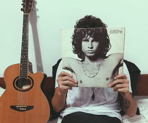 music, guitar, and the doors image