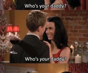 barney, daddy, and how i met your mother image