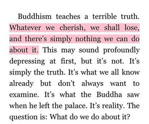 quote, buddhism, and text image