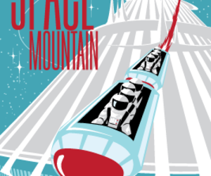 space mountain and poster image