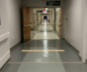 aesthetic, hallway, and hospital image