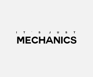mechanics, quote, and text image