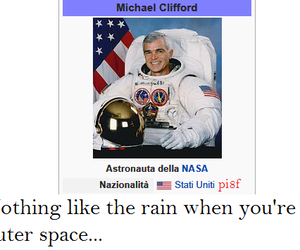 funny, mikey, and outer space image
