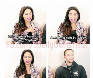 funny, stephen curry, and Relationship image