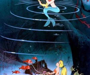 mermaid, disney, and peter pan image