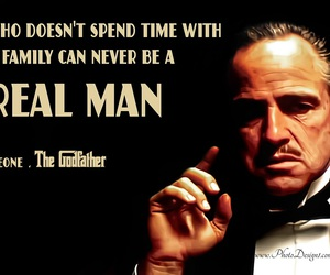 family, quote, and The Godfather image