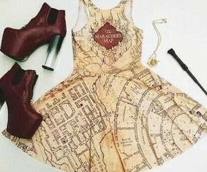 dress, harry potter, and outfit image