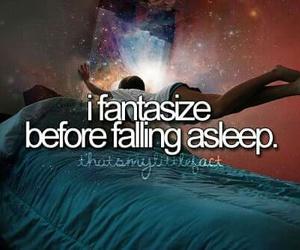 fantasize, sleep, and quote image