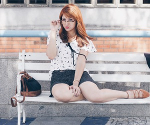fashion, glasses, and hipster image