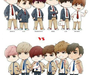exo, kpop, and exo-k image